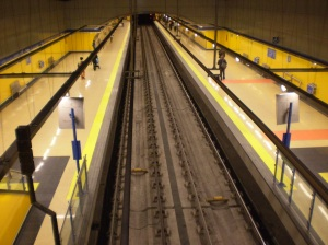 Parada metro de Madrid
