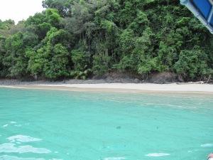 playa de Parque Nacional de Coiba