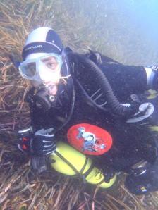 ¿Javi bajo el agua?