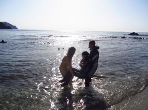 Aprendiendo con un compañero de buceo